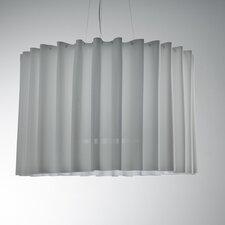 Skirt Single Tier Drum Pendant (Fluorescent)