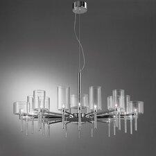 Spillray 20 Light Crystal Chandelier