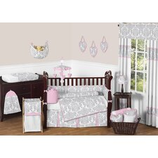 Elizabeth 9 Piece Crib Bedding Set