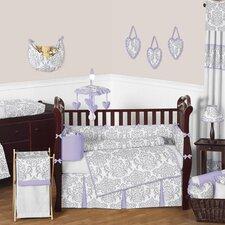 Elizabeth 9 Piece Crib Bedding Set