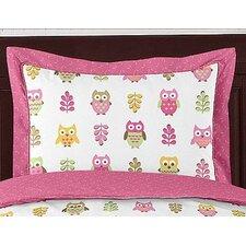 Happy Owl Pillow Sham