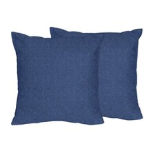 Cowgirl and Wild West Cotton Throw Pillow (Set of 2)