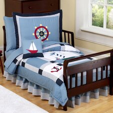 Come Sail Away 5 Piece Toddler Bedding Set