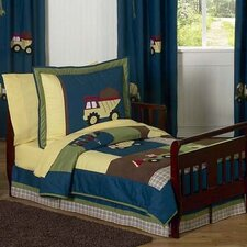 Construction 5 Piece Toddler Bedding Set