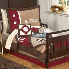All Star Sports 5 Piece Toddler Bedding Set