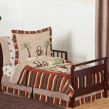 Monkey 5 Piece Toddler Bedding Set
