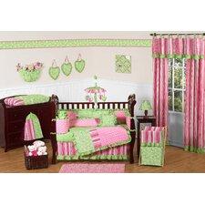 Olivia 9 Piece Crib Bedding Set