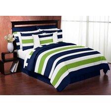 Stripe 4 Piece Twin Bedding Set