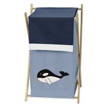Ocean Blue Laundry Hamper