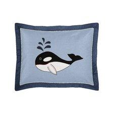 Ocean Blue Standard Pillow Sham