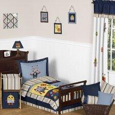 Robot 5 Piece Toddler Bedding Set