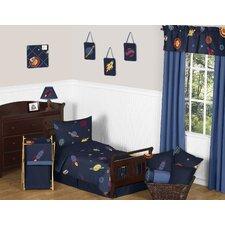 Space Galaxy 5 Piece Toddler Bedding Set