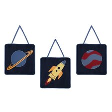 Space Galaxy Wall Hanging Art