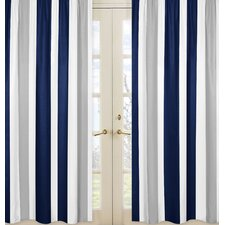 Stripe Curtain Panel (Set of 2)