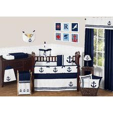 Anchors Away 9 Piece Crib Bedding Set