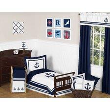 Anchors Away 5 Piece Toddler Bedding Set
