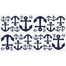 Anchors Away Wall Decal (Set of 4)