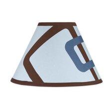 "10"" Geo Blue Empire Lamp Shade"