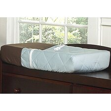 Hotel Blue and Brown Collection Changing Pad Cover