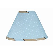 "10"" Mod Dots Cotton Empire Lamp Shade"