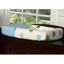 Mod Dots Blue Collection Changing Pad Cover