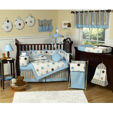 Mod Dots 9 Piece Crib Bedding Set