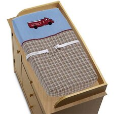 Fire Truck Collection Changing Pad Cover