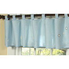 "Go Fish 84"" Curtain Valance"