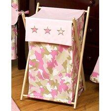 Camo Pink Laundry Hamper
