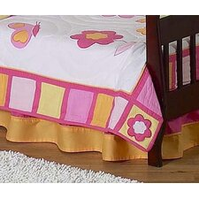 Butterfly Toddler Bed Skirt
