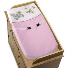 Butterfly Pink and Purple Collection Changing Pad Cover