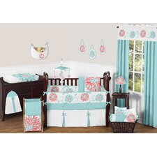 Emma 9 Piece Crib Bedding Set