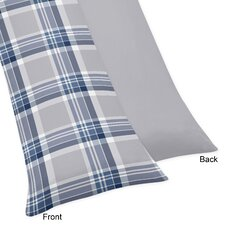 Plaid Body Pillowcase