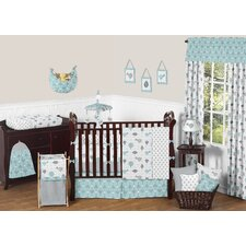 Earth and Sky 9 Piece Crib Bedding Set