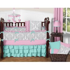 Skylar 9 Piece Crib Bedding Set