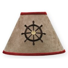 "10"" Pirate Treasure Cove Empire Lamp Shade"