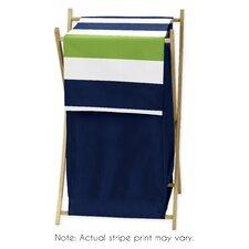 Stripe Laundry Hamper