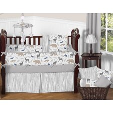 Woodland Animals 9 Piece Crib Bedding Set