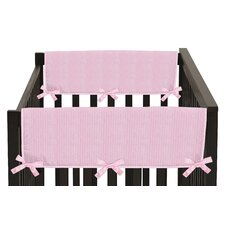 Chenille Side Crib Rail Guard Cover (Set of 2)