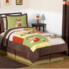 Forest Friends 4 Piece Twin Bedding Set