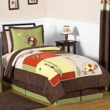 Turtle 4 Piece Twin Bedding Set