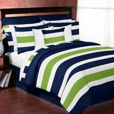 Stripe 3 Piece King Bedding Set