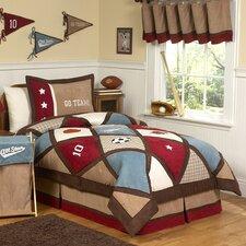 All Star Sports 3 Piece Full/Queen Comforter Set