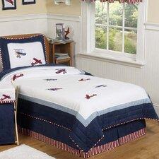 Vintage Aviator 3 Piece Full/Queen Comforter Set