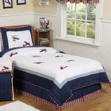 Vintage Aviator 4 Piece Twin Comforter Set