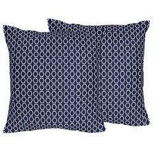 Hexagon Decorative Accent Throw Pillow (Set of 2)