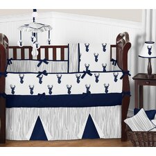 Woodland Deer 9 Piece Crib Bedding Set