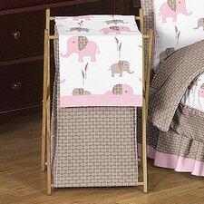 Elephant Pink Laundry Hamper