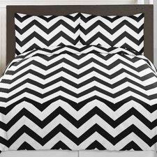 Chevron 4 Piece Twin Comforter Set