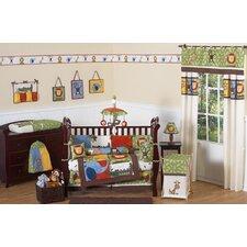 Jungle Time 9 Piece Crib Bedding Set
